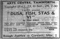 Dusa, Fish, Stas and Vi - Tamworth Arts Centre