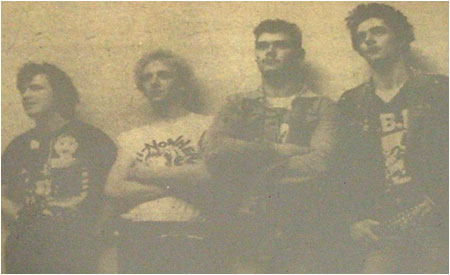 Caption: North Warwickshire punk band Corrupt Youth part of a four-band line-up.